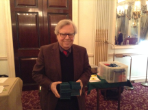 Colin Freeman, our man at the RAC, retrieves the bidding boxes before bad things happen