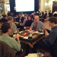 London v Hinden. (CW from left: Richard Granville, Kieran Dyke, Peter Taylor, Michael Byrne)