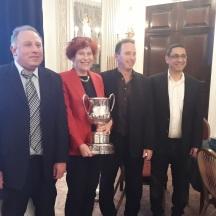 2018: (l-r) Michael Barel, Migry Campanile, Assaf Lengy, Ilan Baraket