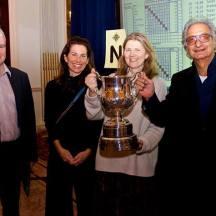 2017: (l-r) Simon Cope, Peter Crouch, Allison Green (npc), Anita Sinclair, Zia, Jan Jansma